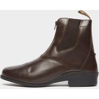 Brogini Men's Tivoli Front Zip Jodhpur Boots - Brown, Brown