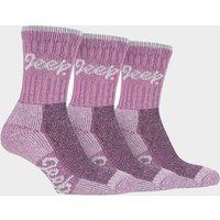 Jeep Women's Luxury Boot Socks - Pink, Pink