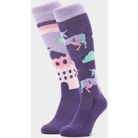 COMODO Kids Novelty Unicorn Socks, Purple