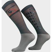 Comodo Unisex Silicone Grip Socks - Grey, Grey