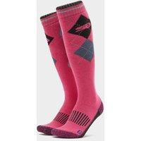 STORM BLOC Women's Patterdale Long Socks, Black