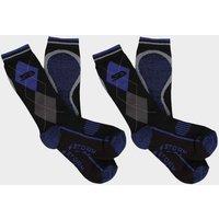 STORM BLOC Men's Hayesmere Short Socks 2 Pack, Blue