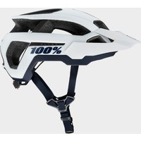 100% Altec Helmet - White/White, White
