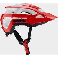 100% Altec Helmet - Red, Red