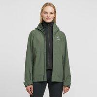 Haglofs Women's Tjarn Waterproof Jacket, Green