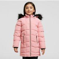 Dare 2B Kids' Striking Waterproof Quilted Jacket, Pink