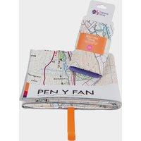 Ordnance Survey Brecon Beacons Pen y Fan Large Towel