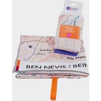 Ordnance Survey Ben Nevis Large Travel Towel