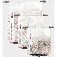 Ordnance Survey 3 Peaks Dry Bags, Multi Coloured
