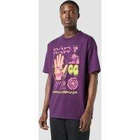 Mens Converse x paria /FARZANEH T-shirt - Purple, Purple