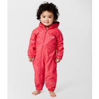 Peter Storm Infants' Fleece Lined Waterproof Suit, Pink/MPI