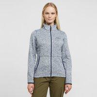 Brasher Womens Rydal Full-zip Fleece  Navy