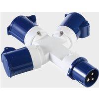 VANGO 3-Way Distributor Power Adapter, Blue/Blue