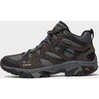 Hi Tec Men's Ravus Mid Waterproof Hiking Boot, Grey