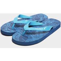 Peter Storm Boys' Contour Flip Flops, Blue/Blue