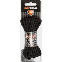 Sof Sole Wax Boot Laces - 152cm, Black