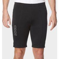 OMM Men's Flash 0.5 Short Cut Running Leggings, Black