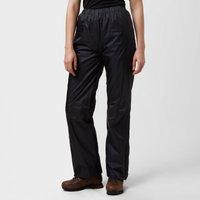 Peter Storm Womens Tempest Waterproof Trousers, Black