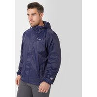 Peter Storm Packable Jacket, Navy Blue/White