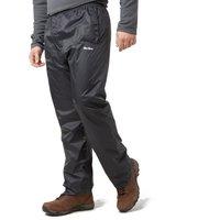 Peter Storm Mens Packable Pants, Black/BLK
