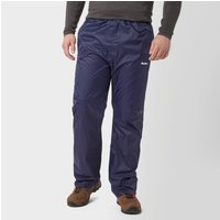 Peter Storm Mens Packable Pants, Navy Blue/NVY