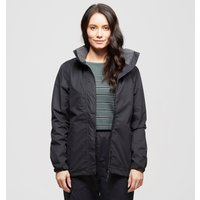 Peter Storm Womens Downpour Waterproof Jacket  Black