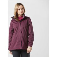 Peter Storm Women's Downpour Waterproof Jacket, PLUM/PLUM