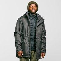 Peter Storm Mens Long Insulated Jacket, GREY/GREY