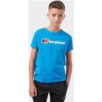 Berghaus Kids Logo Tee  Blue