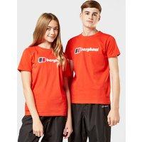 Berghaus Kids Logo Tee  Red