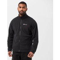 Berghaus Mens Hartsop Full Zip Fleece Jacket, Black/White