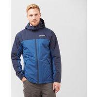 Berghaus Mens Stormcloud Insulated Waterproof Jacket  Blue