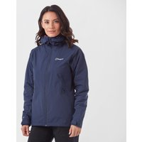 Berghaus Womens Stormcloud Waterproof Jacket  Navy