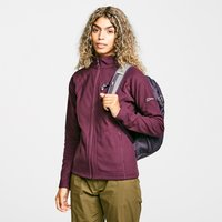 Berghaus Womens Hartsop Full-zip Fleece  Purple