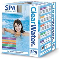Lay-Z-Spa Clearwater Chemical Starter Kit, Clear