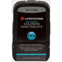 Lifesystems Chlorine Dioxide Tablets, Black