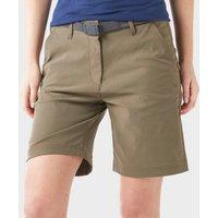 Brasher Womens Stretch Shorts, Khaki