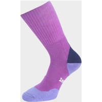 1000 MILE Wool Fusion Women's Walking Sock, FUCHSIA/GRAPE
