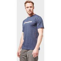 Berghaus Mens Corporate Logo T-shirt  Navy