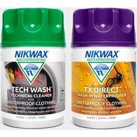 Nikwax Tech Wash and TX Direct Twin Pack (100ml/150ml), Multi Coloured