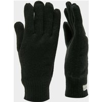 Peter Storm Unisex Thinsulate Knit Gloves, Black
