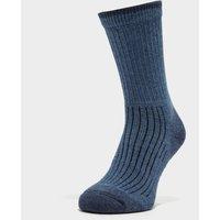 Brasher Women's Hiker Socks, BLUE/BLUE