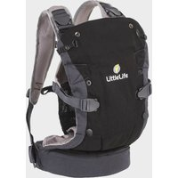LITTLELIFE Acorn Baby Carrier, BLACK/BLACK