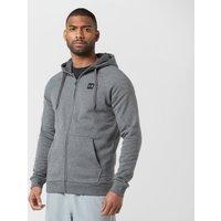 Under Armour Men's Rival Full-Zip Fleece Hoodie, Grey/Grey