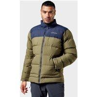 Berghaus Men's Mavora Jacket, Green/Navy