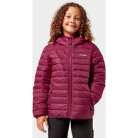BERGHAUS Kids' Kirkhale Baffle Insulated Jacket, Red