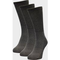Peter Storm 3 Pack Essential Socks, Grey