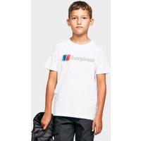 Berghaus Kids' Logo Tee, White