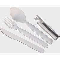 Eurohike Four Piece Cutlery Set, Silver/SET