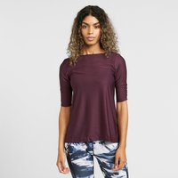 North Ridge Women's Sanctuary Half Sleeve Top, Purple/PNK